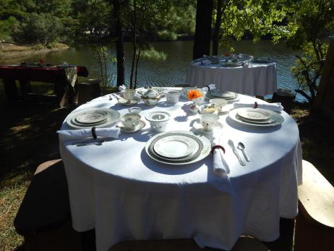 Table Setting for the Royal Tea